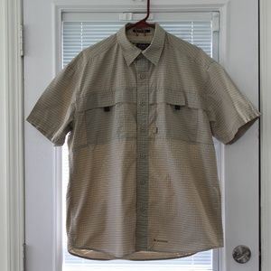 Eddie Bauer Legend McNary Sports Shirt Netted Med